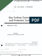Turbinas a Gas (Control y Sist. Proteccion)
