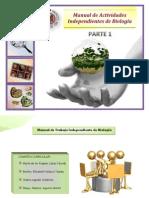 Biolgía - Manual de Actividades Independientes (2012) -Parte 1