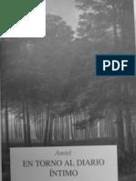 Amiel, Frederich - En Torno Al Diario Intimo