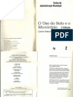 O_uso_do_solo_e_o_município