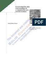 TECNOLOGIAS DE INVESTIGACIÓN Y LECTO-ESCRITURA