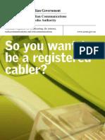 Registered Cabler