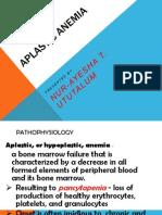 Aplastic Anemia | Bone Marrow | Bleeding
