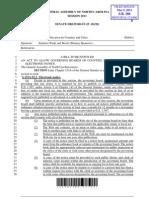 Senator Dr. Wade Public Notice Bill