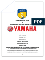 Final Yamaha Report