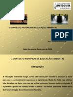 UnidadeI-IntroduçãoàEngªAmbiental-ContextohistóricodaEducaçãoAmbiental-2009