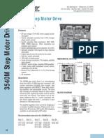 Step Motor Drive Datasheet