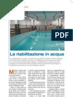 Fisioterapia Prep Atletica E Riabilitazione in Acqua