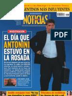 El día que Antonini estuvo en La Rosada