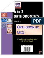 A to Z Orthodontics MCQ