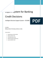 Expert System for Banking Credit Decisions