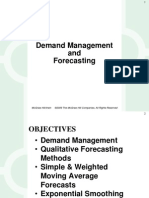 Lecture 05 Demand Management and Forecasting