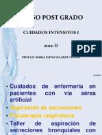5- Huancayo Uci Drenaje Torax. Taller Aspiracion Secresiones Fisioterap