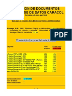 Bibliografía CARACOL - ARBianaGa