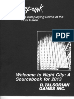 Cyberpunk 2013 - Welcome to Night City