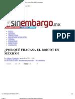 (Elecciones 2012) Castañeda, POR QUÉ FRACASA EL BOICOT EN MÉXICO