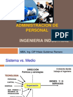 Adm. Personal - Ing. Industrial