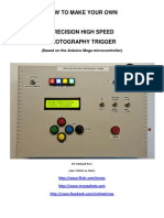 Precision High Speed Photography Trigger Tutorial-Ver 1.3 20120714