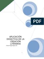 1.-APLICACIÓN DIDÁCTICA DE LA CREACIÓN LITERARIA
