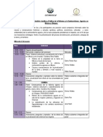 ProgramaPrograma del Seminario de Análisis Jurídico y Político de la Reforma y la Contrarreforma  Agrarias en  México y Chiapas.