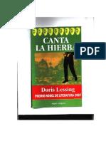 Lessing Doris - Canta La Hierba