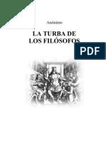 ANON - La Turba de Los Filosofos (Re Pitagoras)
