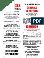 Annonces Du Pieu de Bruxelles 22-02-09