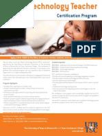 10-135mastertechnologyteachercert-120530164837-phpapp02