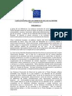 Carta Europea de Los Derechos de Los Pacientes