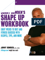 Jonny Bowden's Shape Up Workbook