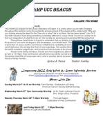 2013 March Newsletter