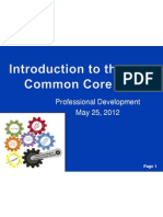 may 25 introduction to ccss