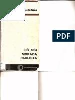 Luís Saia - Morada Paulista