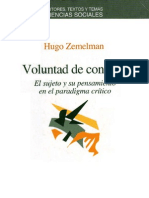Zemelman Hugo - Voluntad De Conocer.pdf