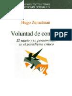 Zemelman Hugo - Voluntad De Conocer.pdf