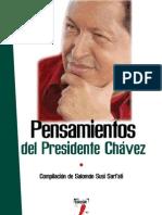 Pensamientos del Presidente Chávez