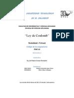DESARROLLO - Práctica 1. Ley de Coulomb