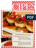 Seared Scallops and Tomatoes Recipes