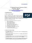 Designing and Conducting Research_BIIT