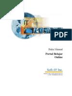 Manual Portal Belajar Online