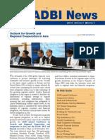 ADBI Newsletter - 2012 - Volume 6 Number 4