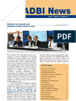 ADBI Newsletter - 2012 - Volume 6 Number 4
