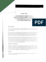normas y procedimientos de auditoría