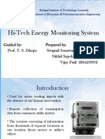 Hi-Tech Energy Monitoring System