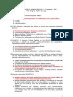 03 - Exercícios D Adm II - 1ª Avaliação - 2012-2 - Parte I