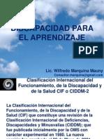 DISCAPACIDAD PARA EL APRENDIZAJE MARQUINA MAUNY WILFREDO.ppt