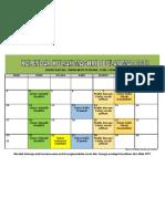 Jadual Pengajian Bulan Mac 2013 Surau Rafeah, Taman Meru Perdana, Chemor