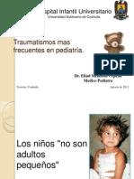 Presentacion de Traumas en Pediatria