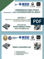 Sesion 5 (Sopc Builder y Nios II)