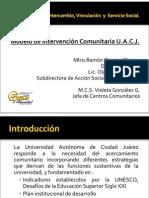 Centro Comunitario Modelo